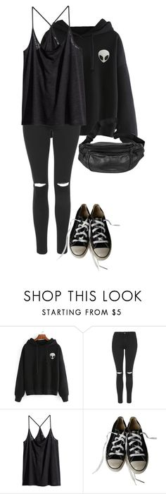 """""""24.06.2017"""" by klorikon00 on Polyvore featuring мода, Topshop, H&M и Converse"""