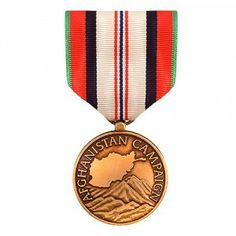 The Afghanistan Campaign Medal (ACM) is awarded to military personnel for serving active duty in the borders of Afghanistan for a period of 30 consecutive days or 60 non-consecutive days. Those in combat or wounded in combat with enemy forces can get this medal no matter how many days spent in Afghanistan. Any personnel killed in action while serving in Afghanistan are awarded this medal. A Bronze Star is worn on the service medal for each campaign in which the service member has participated.