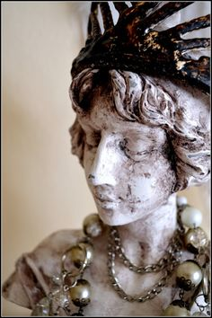 bust of princess - my shabby white home