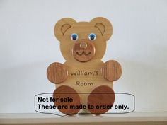 Childs bedroom/door plaque by ABurningAmbition on Etsy