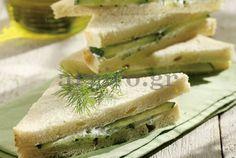 Σαντουιτσάκια με αγγούρι - argiro.gr