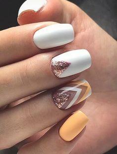 H … – nails – # feather nails # nails Yellow Nail Art Designs; H … – nails – # feather nails # nails Cute Spring Nails, Spring Nail Art, Summer Acrylic Nails, Nail Designs Spring, Cute Nails, Pretty Nails, My Nails, Summer Nails, Long Nails
