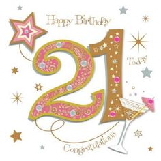 Happy Birthday Wishes Daughters 21 Trendy Ideas Happy 21st Birthday Images, Happy Birthday Today, 18th Birthday Cards, Happy Birthday Girls, Happy Birthday Greetings, Birthday Memes, 123 Greetings, Niece Birthday, Art Birthday