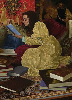 I need this. Someday I want to have the $ to own it!!!  A Place of Her Own by James C. Christensen