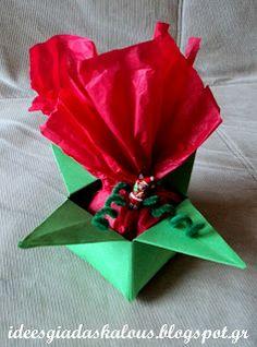 Πουγκί Christmas Crafts, Projects To Try, Tableware, Creative Ideas, Teacher, House, Life, Diy Creative Ideas, Dinnerware