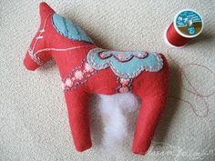 Dala horse plush