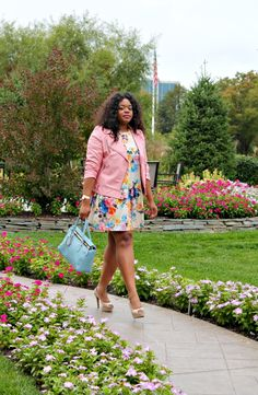 Pastels and florals