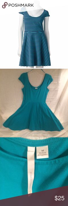 Lauren Conrad Fit and Flare Dress Lauren Conrad Teal color fit and flared dress. Falls right before the knees. Never worn but missing tags. Would look great with a belt! Lauren Conrad  Dresses