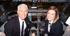 Father, daughter team up to fly American Airlines Jet.   Jen Byrne and dad Scott are both pilots for American Airlines. They got a chance to fly together on Wednesday.