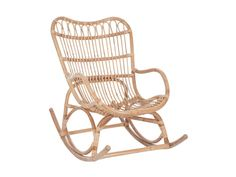Fotel bujany rattanowy 110x93 cm naturalny » J-Line – Black Friday – sklep internetowy Sfmeble.pl