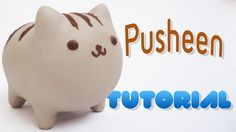 Pusheen Polymer Clay Tutorial
