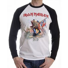 Tricou maneca lunga Iron Maiden: The Trooper - MetalHead Merch Iron Maiden The Trooper, Metalhead, Tees, Fashion, Moda, T Shirts, Fashion Styles, Fashion Illustrations, Teas