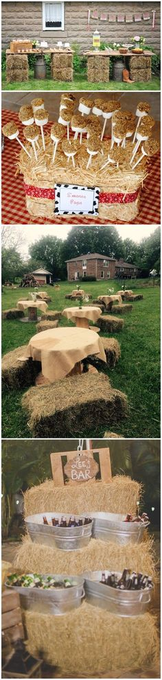Rustic Weddings »    25 Chic Rustic Hay Bale Decoration Ideas for Country Weddings »  ❤️    See more:     http://www.weddinginclude.com/2017/05/chic-rustic-hay-bale-decoration-ideas-for-country-weddings/ #weddingdecoration