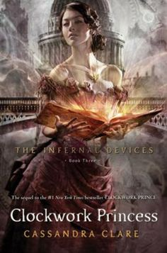The Infernal Devices Book 3: Clockwork Princess by Cassandra Clare. I cried like 100 times during this book and then when I finished I smiled. I was so content with the end.