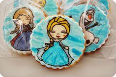 Tuuceden...: Frozen Kurabiyeleri... Elsa cookie