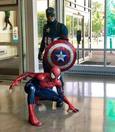 Amazing  shoot from @call_me_cap_brooklynkid -  When you visit @stmaryskidsny with a good friend from Queens @trevraycosplay .  More pics to follow this event touched the deepest parts of my heart today for sure. #captainamerica #captainamericacivilwar #captain #avengers #marvelcomics #wintersoldier #followme #spidey #spiderman #marvel #mcu #parties #charity #kids #children #love #friends #boy #girl #smiles #hope #passion #cosplay #cosplayer #superhero #infinitywar #avengersinfinitywar…