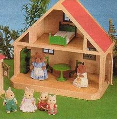 Sylvanian Families - never had them myself but I remember friends who had the whole collection