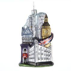 # C4134  GLASS #LONDONORNAMENT