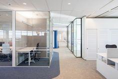 Heerema Marine Contractors | Interior design by HEYLIGERS design + projects.  Office, corporate, meeting room, concentration room, work floor, interior design.