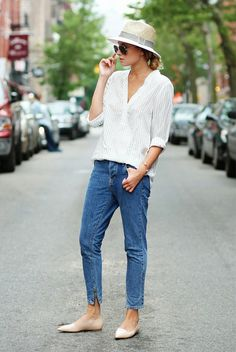 How To Pull Off Tomboy Style Without Looking Like A Dude via @WhoWhatWear