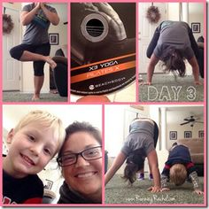 Fitness Scenes From The Week: p90x3 yogax3