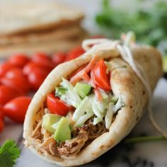 http://damndelicious.net/2013/06/21/slow-cooker-pulled-pork-gyros-and-a-giveaway/