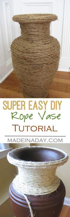 DIY Sisal Rope Cover