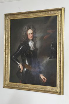 17th century Portrait of a Gentleman in Armour - Large Size
