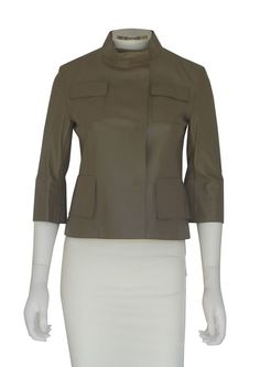 Cropped Leather Jacket, Consignment Online, Personal Shopping, Retail Price, Size 2, Blouse, Jackets, Tops, Women