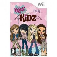 Bratz Kidz Party Game Wii | http://gamesactions.com shares #new #latest #videogames #games for #pc #psp #ps3 #wii #xbox #nintendo #3ds
