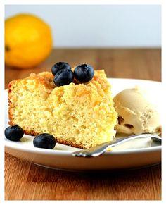 Vegan Meyer Lemon Coffee Cake with Streusel Topping by The Veg Life!