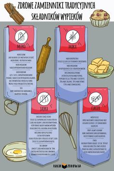 Healthy substitutes for traditional baking ingredients - Fit Herbalife, Baking Ingredients, Kitchen Hacks, Superfood, Food Hacks, Catering, Healthy Lifestyle, Healthy Eating, Nutrition