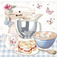 New baking tools illustration illustrated recipe ideas Food Illustrations, Illustration Art, Bakery Logo, Food Drawing, Decoupage Paper, Kitchen Art, Country Kitchen, Pastel Kitchen, Retro