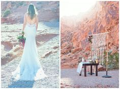 Simple clean minimalistic style elopement in the fabulous Valley of Fire near Las Vegas, NV | All inclusive weddings by Cactus and Lace Weddings