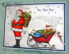 """Sunny Summer Crafts: Christmas Card Club #19: Something Beginning with """"S"""""""
