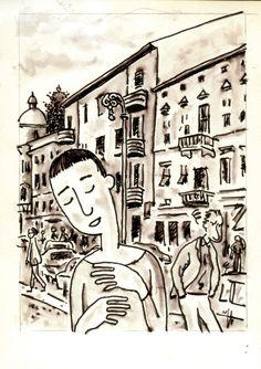 Paulette in Piazza Vittoria a Gorizia