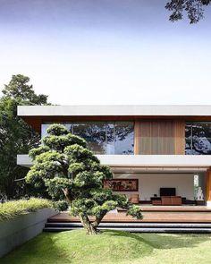 Modern residence   contemporary lines architecture   www.bocadolobo.com #modernarchitecture #modernbuildings
