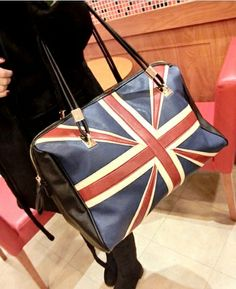 Flag Print Handbag