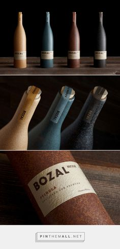 This Mezcal Comes In a Traditional-Looking Ceramic Bottle — The Dieline Wine Glass Designs, Wine Bottle Design, Wine Label Design, Bottle Packaging, Brand Packaging, Packaging Design, Branding Design, Wine Logo, Best Logo Design