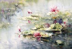watercolor by Giuliano Boscaini