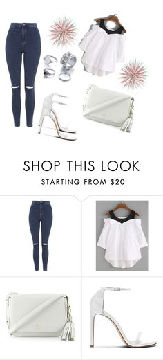 """""""Untitled #126"""" by amrabasic ❤ liked on Polyvore featuring Topshop and Kate Spade"""