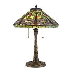 Quoizel TF2598T Jungle Dragonfly Tiffany Table Lamp