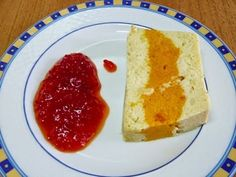 Pastel de verduras tricolor (Microondas), foto 1 Cornbread, Microwave, Pudding, Healthy, Ethnic Recipes, Desserts, Food, Queso, Natural