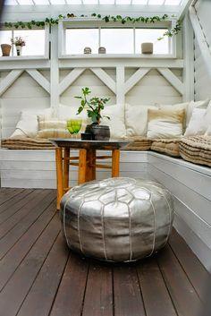 jardín de otoño. moroccan table.  dar amïna blog