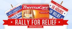 Win $16,000 with ThermaCare  ends 10/16