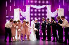 Military wedding dress blues