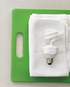 Unscrew light bulbs and wipe off with a microfiber cloth. | 33 Meticulous Cleaning Tricks For The OCD Person Inside You