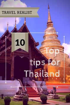 10 Tips for Thailand - from The Travel Realist