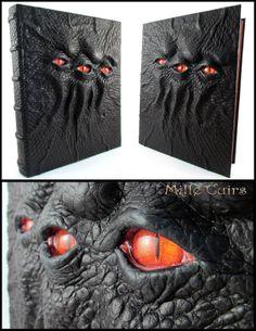 Necronomicon handmade with genuine leather.