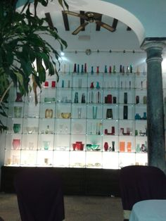 Yet another look at El Museo del Vidrio y Cristal. (The Museum of Glass and Crystal)